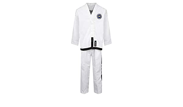 Playwell Elite Diamond Fabric ITF Taekwondo Masters Uniform