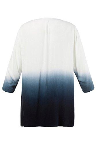 Ulla Popken Femme Grandes tailles Tunique 710250 bleu pacifique