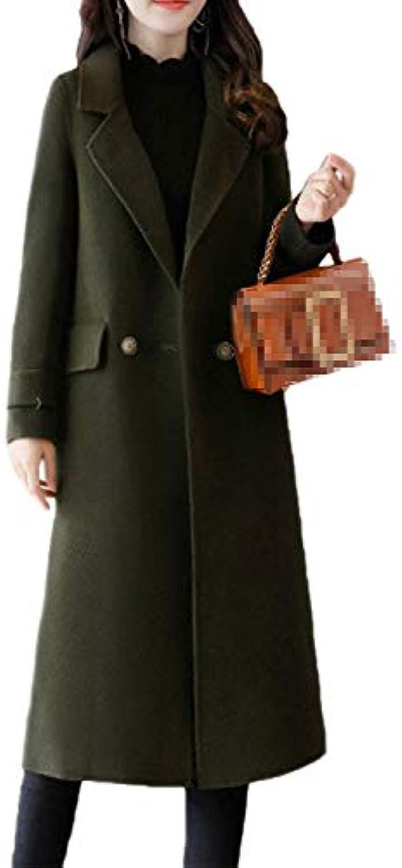 ... Trench Donna Primaverile Autunno Lunga Elegante Cappotti Elegante Lunga  Fashion Mode di marca Casual Manica Lunga 453307f7a27