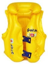 Aaina Sports Children Swim Vest Life Jacket, Full-9 -10 (Pink, Yellow, Blue and Green)