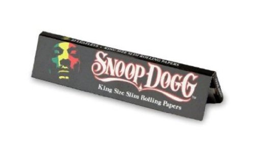 SNOOP DOGG de matrimonio papel de liar fino - 5 paquetitos por TRENDZ