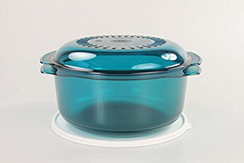 TUPPERWARE Micro Cook 3,0 L turquoise
