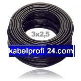 Erdkabel Installationskabel NYY-J 3x2,5mm² 25m Ring von kabelprofi24.com bei Lampenhans.de