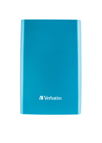 Verbatim Store 'n' Go 53026 500GB externe Festplatte (6,4 cm (2,5 Zoll), 5400 rpm, 8MB Cache, USB 3.0) blau
