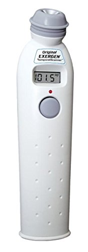 Exergen Temporal Artery Thermometer with Silver Ion Antimicrobial Head