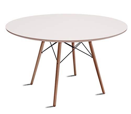 Beat Collection Dining Esstisch, 72x 110x 110cm, weiß -