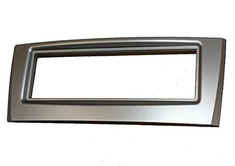 Aerzetix C4502 Cadre Adaptateur pour Autoradio, Argent