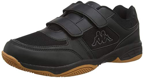 Kappa Unisex-Erwachsene DACER Sneaker, Schwarz (Black/Grey 1116), 43 EU