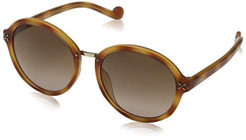 Liu Jo Damen LJ640S 218 55 Sonnenbrille, Blonde Tortoise