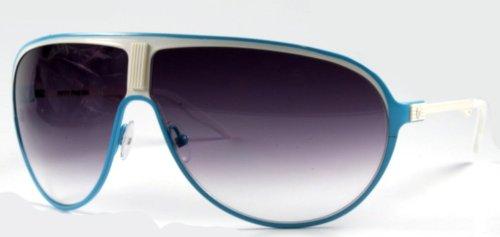 Givenchy gv 7061/s qt 807 occhiali da sole uomo, nero (black/green) 48
