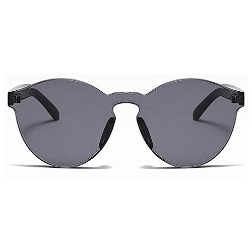 BlueAurora Katze Auge Sonnenbrille für Frauen, Klassische polarisierte Fahren Reisen Sonnenbrille für Frauen Alltag, grau