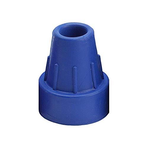 Krückenkapsel blau 16mm (Ossenberg), Zubehör für Gehstöcke und Unterarmgehstützen (Zubehör Krücke)