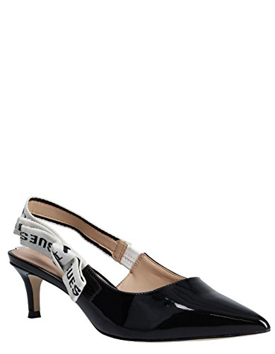 Guess Black Heel Sandals Black
