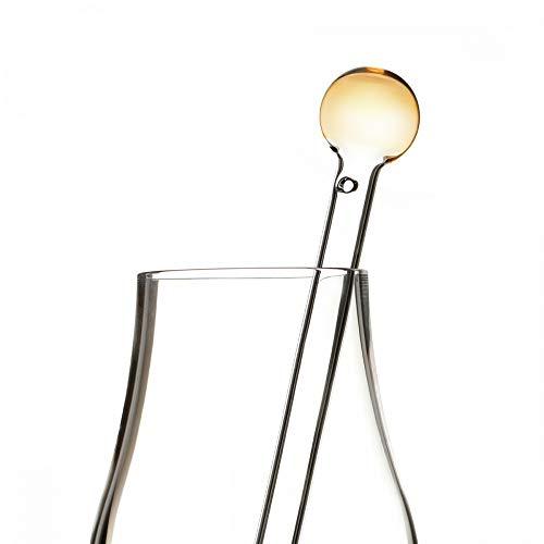 Eburya Whisky Water Dropper/Whiskypipette aus Glas - Handgefertigt in Schottland Crystal Water Tumbler