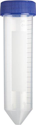 Heathrow Scientific HD4427R Konische Zentrifugenröhrchen, Steril, Polypropylene, 50 mL Volumen, 5.0 mL Graduierung, Natur (500-er Pack)