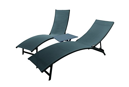 vivere-midtl3-bc-midtown-aluminium-sun-lounger-set-black-chrome-3-piece