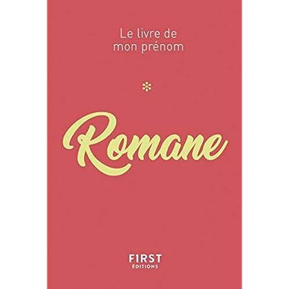 Le livre de mon prénom - Romane 80