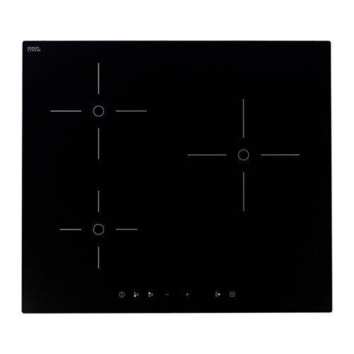 IKEA-Trevlig-Placa-de-induccin-negro