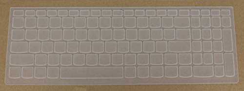 Saco Keyboard Silicon Protector Cover for Saco Keyboard Silicon Protector Cover for Lenovo Flex 4 15 Idea pad 510 15 310 15 110 15 110 17 series 15.6
