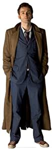 The Tenth Doctor Life Size Standee - Dr Who Theme Cardboard Cutout