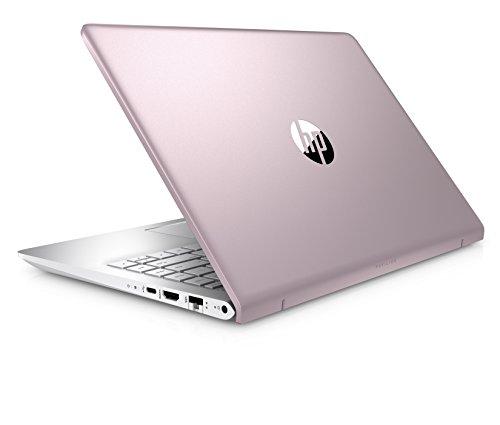 HP Pavilion 14 bf005ng 356 cm 14 Zoll Notebook Intel key i7 7500U 8 GB RAM 1 TB HDD 256 GB SSD NVIDIA GeForce 940MX Windows 10 residence 64 pink silber Notebooks