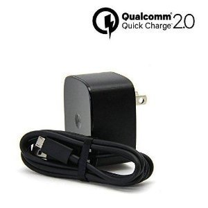 Turbo Power 15W BlackBerry Classic QUICK CHARGE 2.0 USB Wall Charging Kit with 1M (3.3ft) MicroUSB Cable!