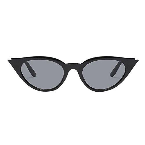 iCerber sonnenbrillen Süß Schöne Verspielt Retro Vintage Unisex Cat Eye Sonnenbrille Rapper Rhombic Shades Gläser UV 400 ❀❀2019 Neu❀❀(Mehrfarbig)