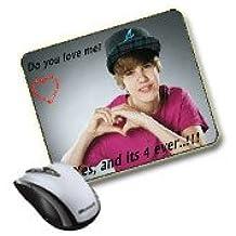 Kdomania Tapis De Souris Justin Bieber