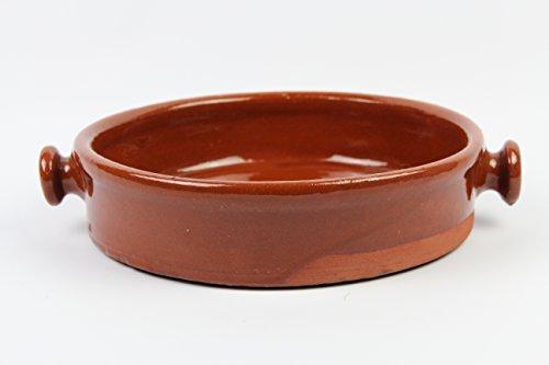Ikocat/® Plat /à Four rectangulaire en Terre Cuite 26 x 19 cm