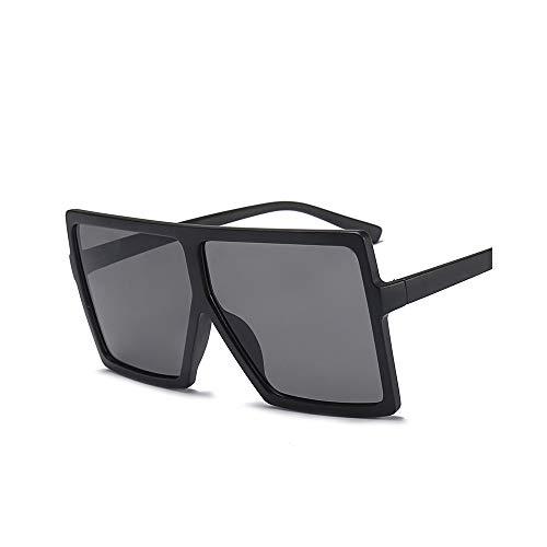 MINGW-Big Frame Gradient Shades Oversized Sunglasses Square Women Fashion Sun Glasses Uv400