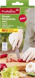 Profissimo Einmal-Handschuhe Mittel, 1 Packung mit 60 Stück