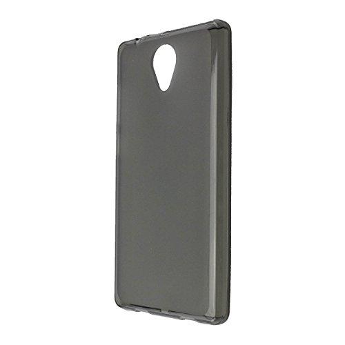 caseroxx TPU-Hülle für Archos Core 50, Tasche (TPU-Hülle in schwarz-transparent)