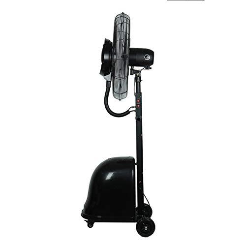 Industrie-sockel-fan (Spray Lüfter Kühlung und Hydratisierung Industrie-Bodenventilator High-Power Electric Fan Klimaanlage Fan (Farbe : Schwarz, größe : Fan Blade Diameter (750MM)))