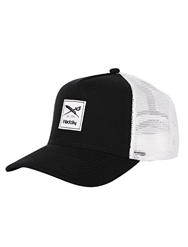 Iriedaily Daily Flag Mesh Cap [Black White]