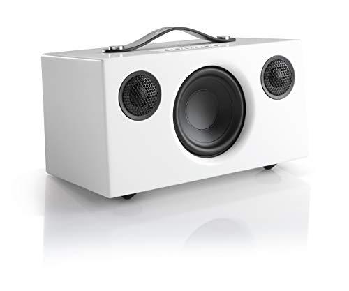 Audio Pro Addon T5 Bluetooth Stereo-Lautsprecher (Echtholzgehäuse) Weiß
