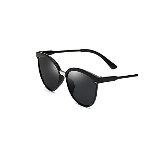 Sportbrillen, Angeln Golfbrille,Fashion Cat Eye Sunglasses Women Oversized Steampunk Vintage Sun Glasses For Ladies Retro Brand Designer Color Lens Black Lens