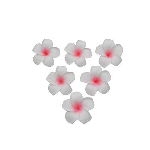 Strawberryran Plumeria 10Pcs / Lot Pe-Schaum Frangipani Artificial FlowerWedding Dekoration Partybedarf, Blau, M Cherry Blossom Vase Medium