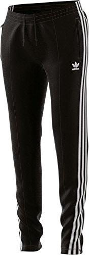 Black Vinyl Pants (adidas Damen Hose SST, Black, 36, CE2400)