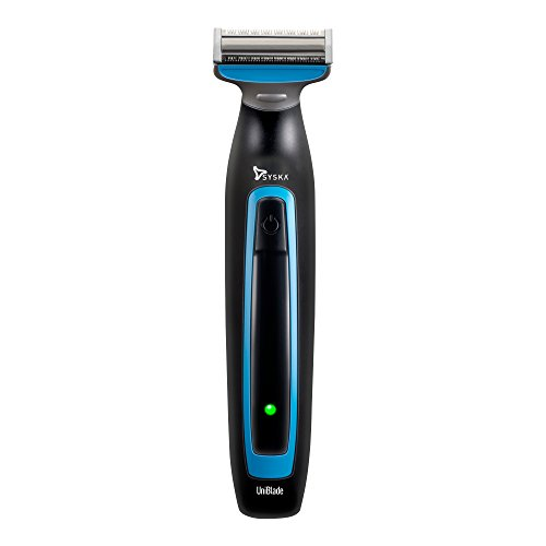Syska UT1000 Cordless Trimmer for Men (Black, Blue)