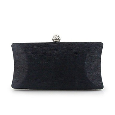 pwne Frauen Abend Tasche Pu-Frühling/Herbst Alle Jahreszeiten Hochzeit Event / Party Casual Formal Outdoor Büro & Amp; Karriere Klappe Metall Kette Verschluss Lockwine Black