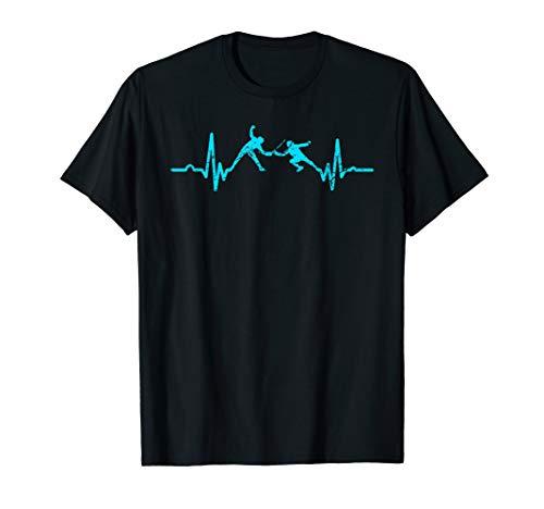 Fechten T-Shirt Fechter Sport Athlet Geschenk