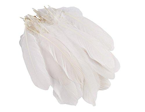 100-piezas-de-6-9-pulgadas-blanco-hogar-boda-fiesta-decor-pluma-de-ganso-diy-manualidades