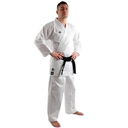 adidas Uniforme da Karate WKF Club da Uomo 2268 g per Studenti di Arti Marziali