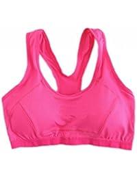 EOZY Soutien-gorge de Sport Droit Femme Running Fitness Pigeonnant Pas Armature Lingerie Sport