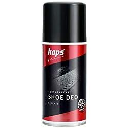 Kaps Zapatos Desodorante Spray–schuhdeo garantiza Aroma Fresco en los zapatos y en patas, 150ml