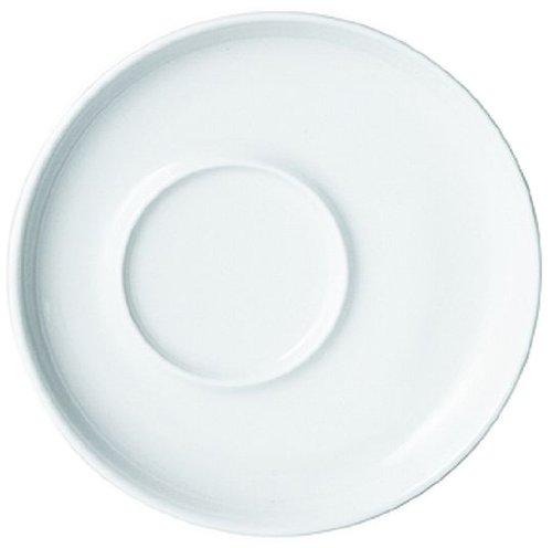 Kahla - Porcelaine pour les Sens 393500A90039C Five Senses Sous-Tasse à Expresso Blanc 11 cm