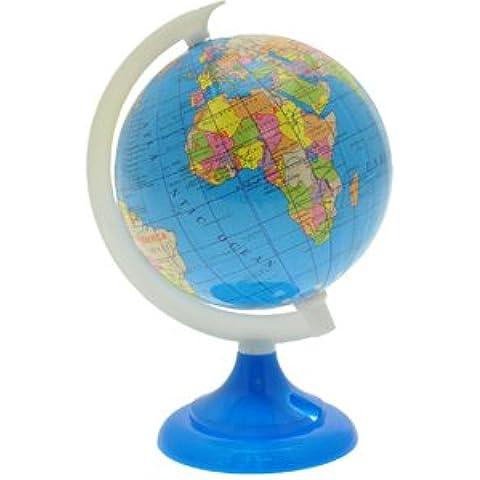 Around the World Globe mappa con