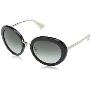 Prada Damen Sonnenbrille Cinema PR12QS, Grau (Opal Grey/Matte Grey TV30A7), One size (Herstellergröße: 54)