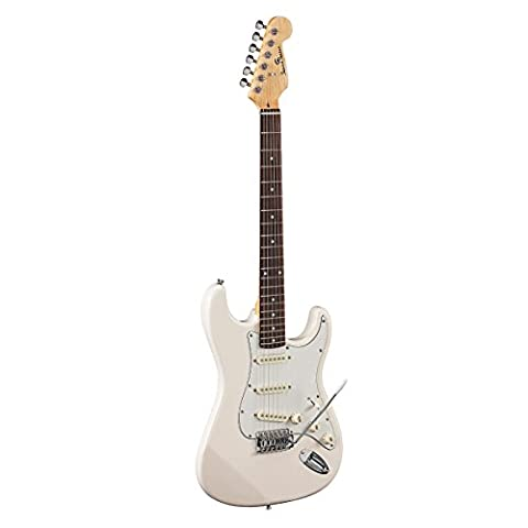 Soundsation–Double Cutaway Elektrische Gitarre mit 3Single Coil (Single Cutaway Gitarre)