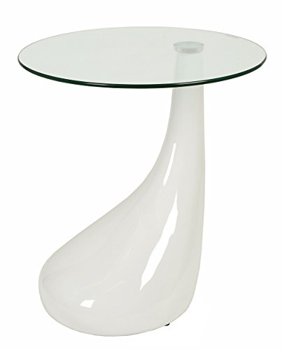 ts-ideen-Table-dappoint-Table-basse-Table-de-salon-en-verre-Scurit-8-mm-et-pied-blanc-Salon-salle--manger-chambre